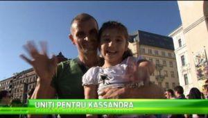 8 echipe din Timisoara au sarit in ajutorul fetei lui Rotariu! Kassandra va fi operata din nou! VIDEO