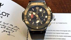 Ce scrie pe spatele acestui ceas de lux de 20.000 de euro. Tocmai a fost scos la vanzare de un jucator de la Manchester United