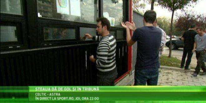 Steaua poate avea un numar foarte mic de fani cu Rio Ave! Cate bilete s-au vandut pana acum! VIDEO
