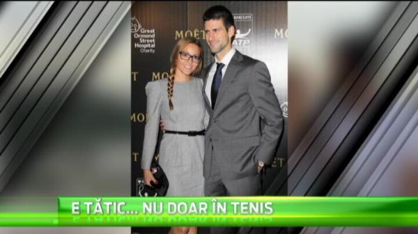 In cea mai fericita zi pentru Simona Halep si Djokovic s-a simtit special! Novak a devenit tata! VIDEO