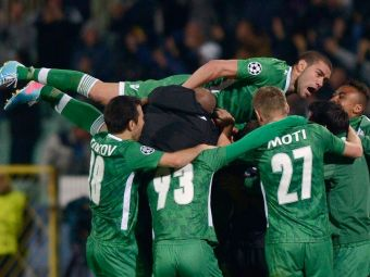 Minunea continua! Ludogorets castiga cu eMotii si bifeaza prima victorie din istoria Bulgariei in Liga Campionilor! REZUMAT VIDEO