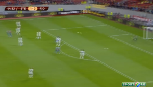 SENZATIONAL! SUPER gol Rusescu! Sut minunat de la 25 de metri, Cassio s-a aruncat DISPERAT