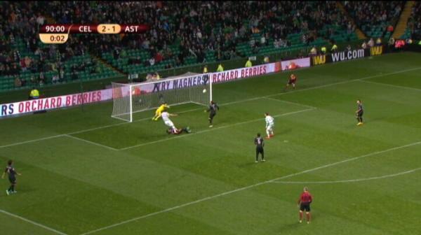 Lung scoate un sut pe coltul scurt, Celtic trece pe langa 3-1!