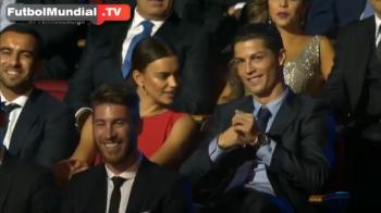 """Irina Shayk, aproape sa ia """"foc"""" langa Ronaldo! Reactia avuta la glumele """"sexy"""" ale unei actrite de comedie, pe seama lui - VIDEO"""