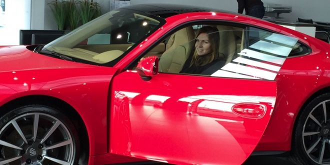 ANUNTUL din strainatate dupa ce Simona Halep a primit CADOU un Porsche!  Stati o secunda! Sa fie, oare, asta?