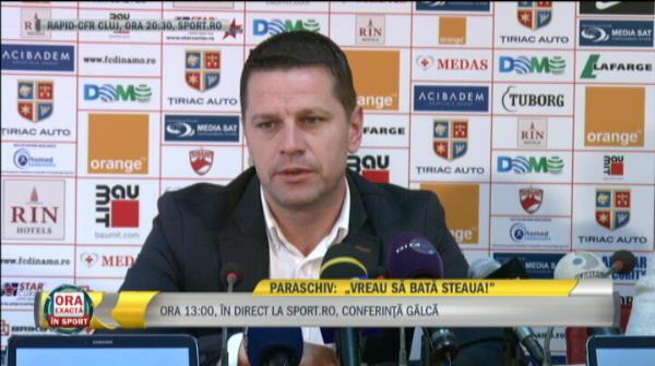 """Reactia lui Stoican cand a fost intrebat de Steaua: """"Parca e mai liniste, mai fara IRONII!"""" Planul SPECIAL pentru victorie: """"Am trei, ei sunt!"""""""