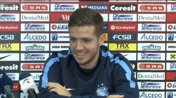"""Faza GENIALA la conferinta! :)) Chipciu spunea ca vrea sa joace, reactia lui Galca l-a lasat fara cuvinte: """"Doamne-fereste!"""" VIDEO"""