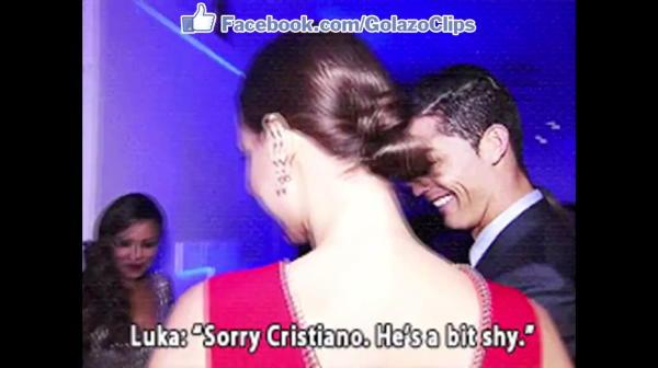 """""""Imi pare rau, Cristiano, e putin timid!"""" Ronaldo a patit-o cand l-a intalnit pe copilul lui Modric! Ce i-a facut"""
