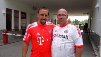 """""""Esti nebun?"""" S-a dus la Ribery, si-a dat tricoul jos si i-a aratat cat de mult il IUBESTE! Gestul dureros al acestui suporter"""