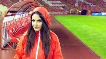"""Cea mai SEXY femeie din fotbal, interzisa de fotbalisti la antrenamente: """"Nu ne mai putem concentra"""" :) Cum arata: FOTO"""