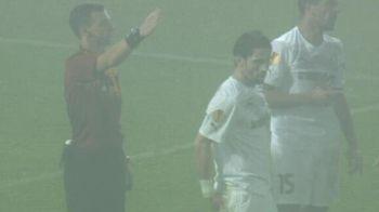 "Moment INCREDIBIL la Astra - Celtic: ""Arbitrul a inceput sa rada de mine!"" Faza care nu s-a vazut la TV. VIDEO"