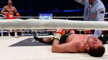 KO DEVASTATOR! Pulev, distrus de Wladimir Klitschko in 5 runde! Macelul a fost oprit dupa ce bulgarul a fost pus la podea de 4 ori