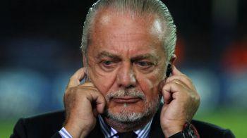 Site-ul oficial al clubului Napoli a fost suspendat pentru o zi! Ce mesaj apare cand incerci sa accesezi pagina: