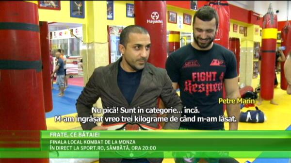 A fost campion cu Steaua si a jucat in nationala, ar putea urca ORICAND in ring! Cu cine se antreneaza :)