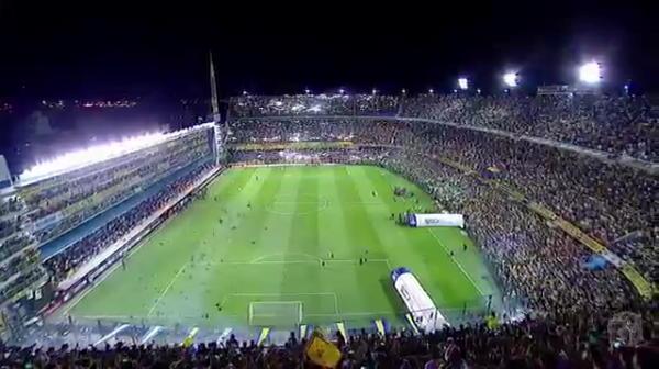 VIDEO FABULOS! Atmosfera fantastica la Boca - River! Ce coregrafie au facut fanii la intrarea echipelor pe gazon