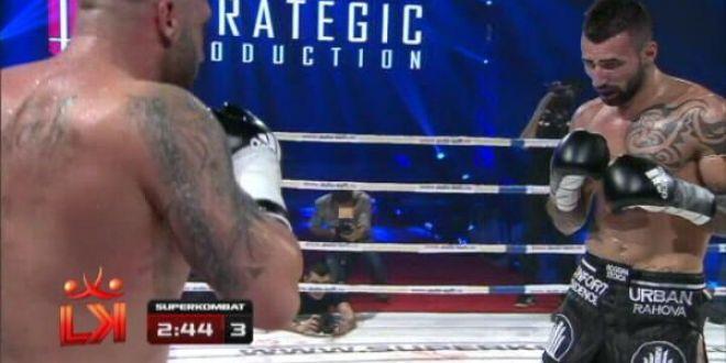 Bucharest Bad Boy  Bogdan Stoica a obtinut prima victorie in 5 meciuri! Vezi cum l-a DEMOLAT in runda a 3-a pe adversar! VIDEO