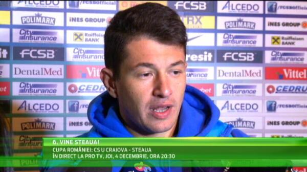 """Steaua merge la 2 SOLIST in Danemarca! Toate sperantele stau in Keseru: """"Daca i se da mingea bine, o sa inscrie si acolo"""""""