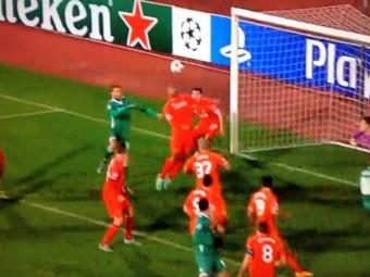 Imaginea SENZATIONALA care arata cum a fost distrusa Liverpool. Cum s-au aparat la faza golului de 2-2 cu Ludogorets