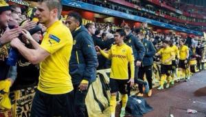 Gest URIAS al jucatorilor lui Dortmund dupa ce au pierdut cu Arsenal in Liga! Ce au facut in fata fanilor