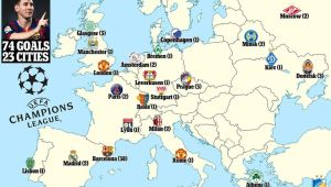 Cum arata harta Europei lui Messi in care Romania este disperata sa se integreze de peste un deceniu
