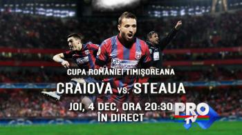 Craiova se pregateste de un meci istoric! Cum invata de la Aalborg s-o invinga pe Steaua in Cupa Romaniei, joi, 20:30, la ProTV
