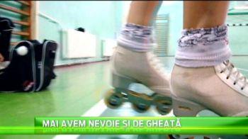 La Cluj s-au nascut vicecampioanele lumii la patinaj! Culmea, ele se antreneaza fara gheata! VIDEO