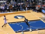 "Baschet la Maxx | De cati pasi e nevoie pentru un slam dunk perfect cand ""Istvan Kovacs"" arbitreaza un meci in NBA? :) VIDEO"