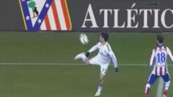 Calcaiul cu care a vrajit tot stadionul! Cea mai tare faza reusita in 2015 de un jucator de la Real Madrid. VIDEO