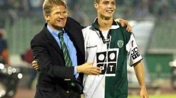 """Boloni, prezentat ca descoperitorul lui Ronaldo: """"Ma luptam cu numarul mare de driblinguri"""" Ce mesaj i-a transmis"""