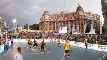 Sport Arena va organiza cea mai importanta competitie de baschet 3x3 din lume! Sportul poate ajunge la Olimpiada in 2020