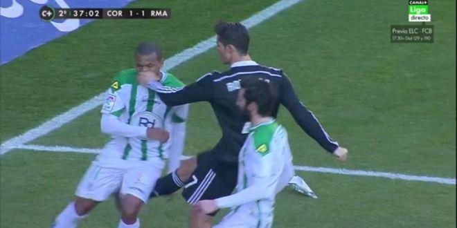 DEZASTRU pentru Cristiano Ronaldo! A fost ELIMINAT dupa ce si-a lovit un adversar! Ce AROGANTA a facut la iesirea de pe teren