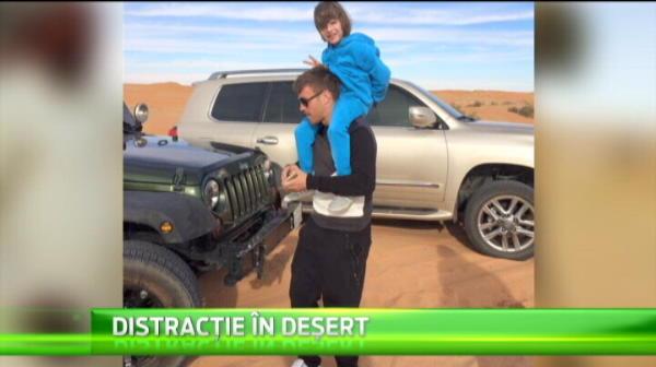 Distractie de SEIC pentru Reghe in Arabia Saudita! Cum s-a distrat alaturi de Pintilii si de fiul sau
