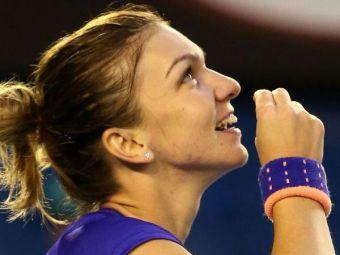 Moment EMOTIONANT pentru Simona Halep! Gestul facut dupa victoria cu Wickmaier i-a adus aplauze din partea tuturor! FOTO
