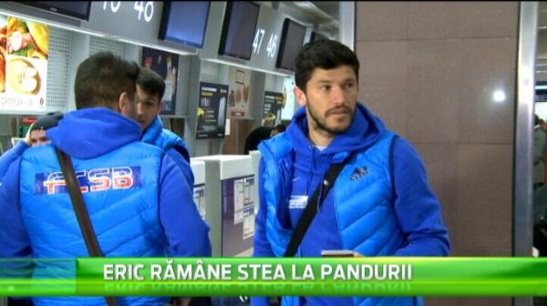 """Gigi Becali nu m-a vrut!"" El e brazilianul care trebuia sa devina urmasul lui Sanmartean la Steaua. Azi a sosit in Romania"