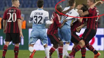 Ce suspendare a primit Mexes dupa ce l-a strans de gat pe Mauri in meciul cu Lazio: