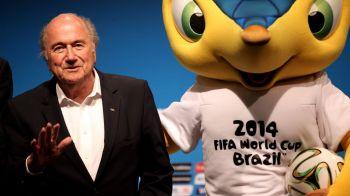 Regula mondiala: sa nu faci afaceri cu FIFA! Brazilienii primesc doar 100 mil $ dupa ce au cheltuit 15 miliarde! FIFA, venituri de 4 mld $