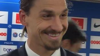 """""""Stii tu mai mult fotbal decat mine? Atunci de ce vorbesti?"""" Zlatan l-a facut praf pe reporter dupa ce l-a intrebat asta. VIDEO"""