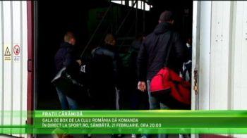 """Boxerii romani fac antrenamente SPARTANE inaintea Galei de la Cluj - Romania da KOmanda! """"Fratii CARAMIDA"""" au dat cu pumnii in...caramizi :)"""