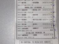 Biletul IREAL cu care a castigat un suporter din Romania! Doar BONUSUL a fost de peste 27.500 de lei! A luat o avere! FOTO