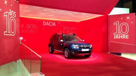 Dacia si premiera de la Geneva! Imagini oficiale cu noul model-editie speciala, la 10 ani de la unirea cu francezii. FOTO si VIDEO
