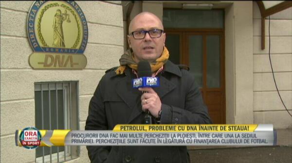 """Perchezitii DNA in cazul Petrolul. Primarul Ploiestiului, adus la audieri: """"Capra a fost presat sa dea declaratii impotriva mea"""""""