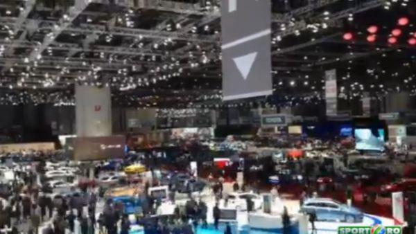 Agitaie si super masini in Salonul Auto de la Geneva