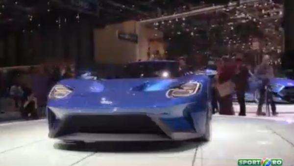Prezentare la Geneva pentru Ford GT