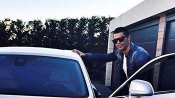 """Cum arata """"MONSTRUL"""" de 400.000 de euro cu care Cristiano Ronaldo a venit la antrenamentul Realului. FOTO si VIDEO"""