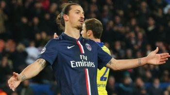 """""""Poate sa plece unde vede cu ochii, e simplu"""". Zlatan Ibrahimovic, criticat dur in Franta, dupa scandalul de la meciul cu Bordeaux"""
