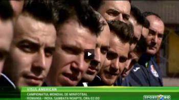 LIVE la Sport.ro: Romania se bate pentru titlul mondial la minifotbal! Surpriza in America: un fost campion al Romaniei e in lot