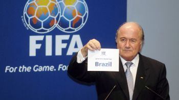 Cupa Mondiala, MINA de aur a FIFA! Venit IREAL pentru Blatter in 2014! Cate miliarde a incasat pentru turneul din Brazilia