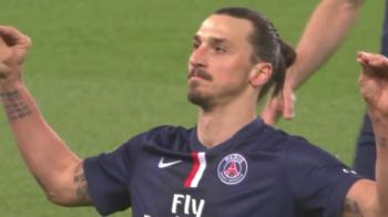 "Sut si ""Ciocu' mic""! Zlatan a facut SHOW in Franta: cum a reactionat dupa ce a dat un hat-trick! Nu parea deloc fericit! VIDEO"