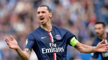 Cea mai mare AROGANTA a lui Zlatan! Ce a facut cu mingea cu care a reusit un hattrick impotriva lui Lorient. FOTO