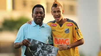 """""""Neymar nu-mi va lua niciodata coroana de REGE"""". Pele nu crede ca cineva mai poate reusi ce a facut el!"""